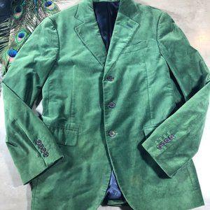 7FAMK Green Velvet Blazer size Small